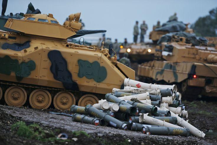 The Latest: Trump warns Turkey's Erdogan over Syria conflict