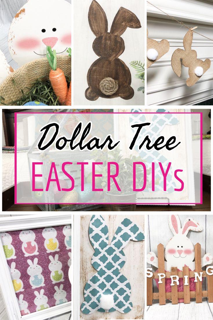 10 of the best easter decor dollar tree ideas easterdiy