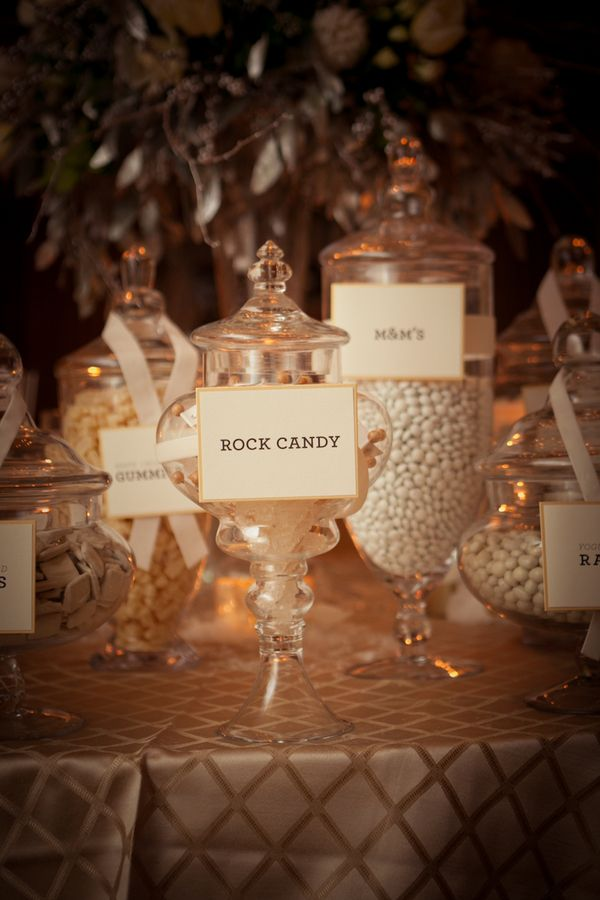 dessert table  |  ars magna studio    I like the candy bar idea for weddings