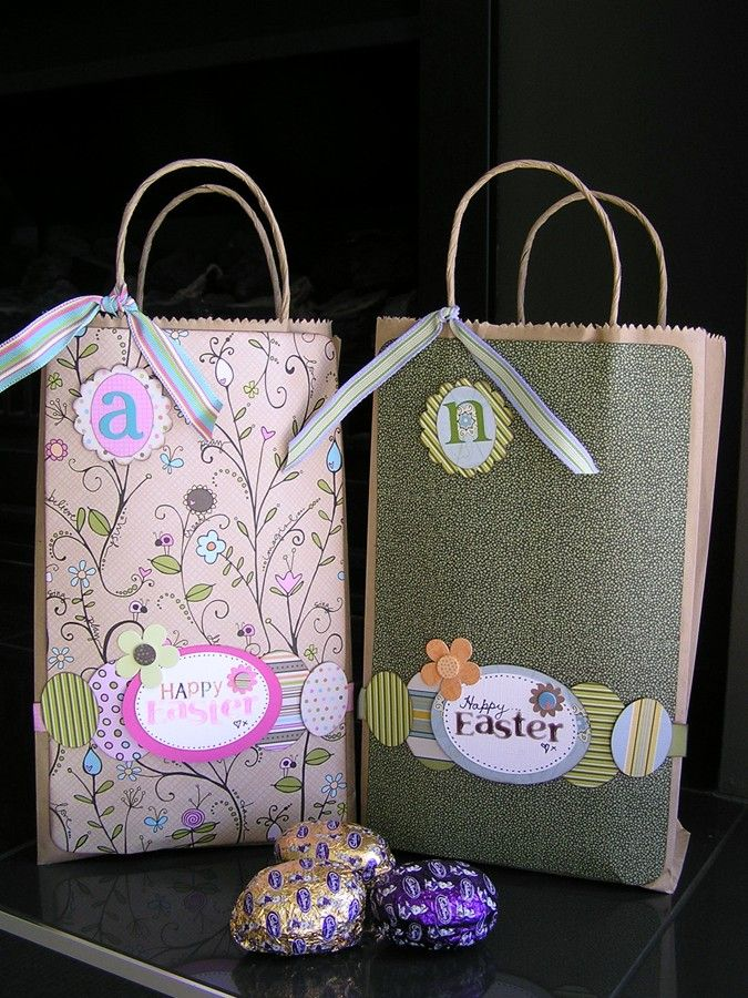 33 best easter bags for kids images on pinterest easter baskets another idea for easter egg hunt bags for my nieces nephews negle Gallery