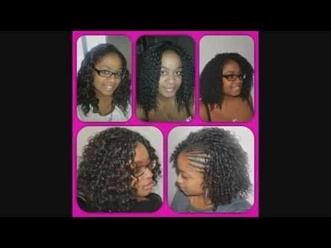 Tutoriel crochet braids - YouTube by Olyhair