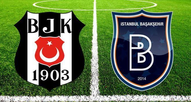 Süper Lig'in 12. hafta mücadelesinde Beşiktaş ve Başakşehir karşı karşıya geliyor. Ligde ilk iki sırada bulunan bu iki takımın mücadelesinde ilk 11'ler belli oldu.
