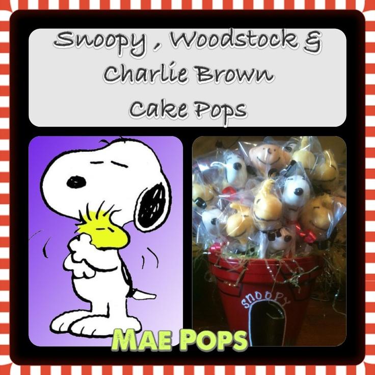 Charlie Brown Cake Pops