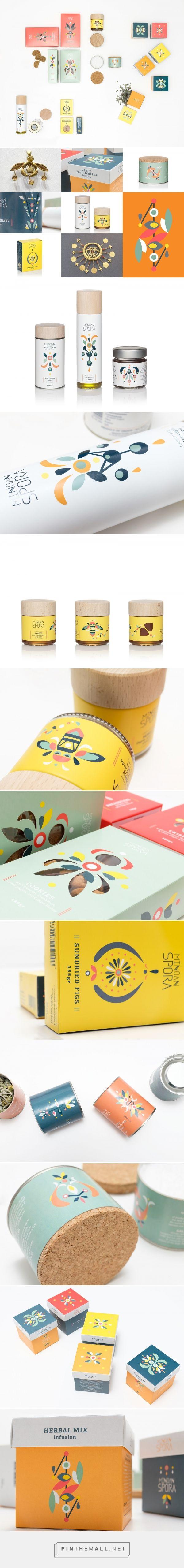 Minoan Spora packaging design by Lazy snail - http://www.packagingoftheworld.com/2017/01/minoan-spora.html