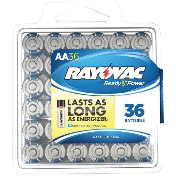 Alkaline Batteries Reclosable Pro Pack Aa 36 Pk Alkaline Battery Batteries Energizer Battery