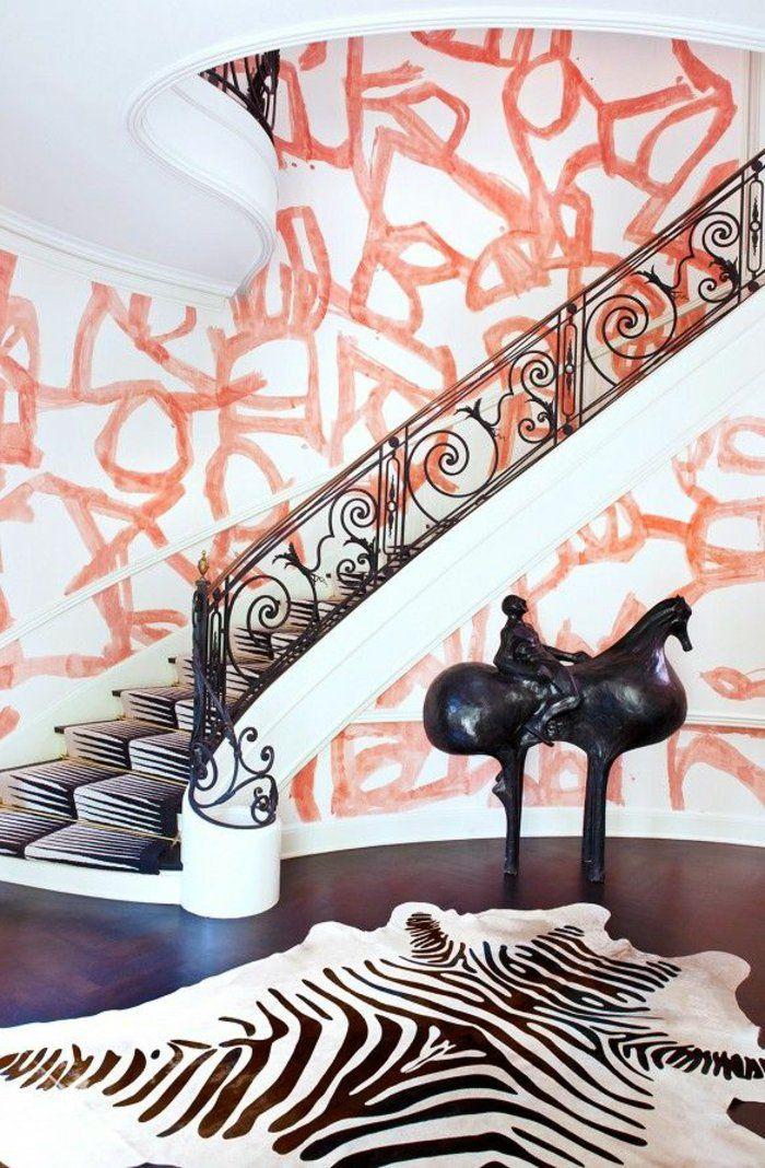 Les 80 meilleures images du tableau tapis sur pinterest for Idee deco zebre