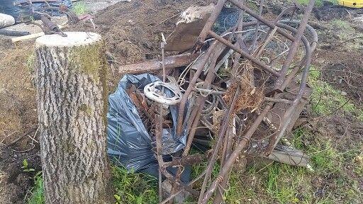 Metall søppel