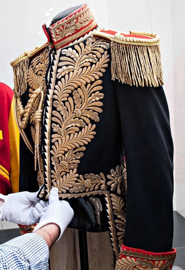 Michael Jackson's wardrobe on show in London