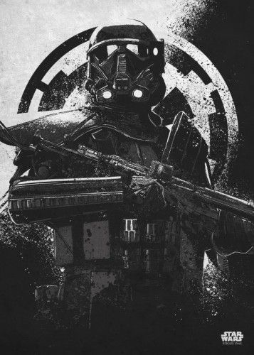 Star Wars Death Trooper metal poster - PosterPlate posters made out of metal