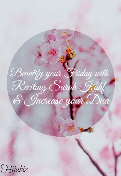 Jumaah Mubarak everyoneee! Let's increase The Barakah in our friday by reciting Surah Al Kahf & more selawat & Dua!
