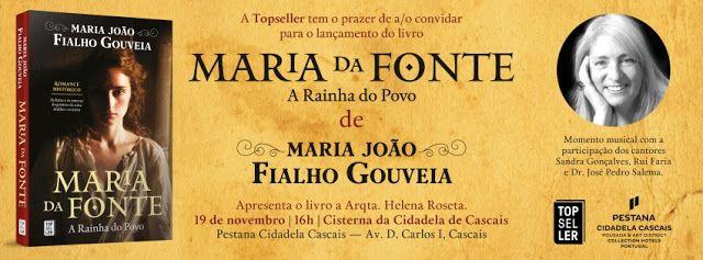 Sinfonia dos Livros: Convite TopSeller   Maria da Fonte   Maria João Fi...