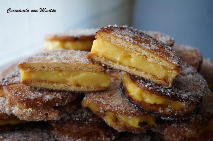 -Vla gevulde gebakken koekjes   keuken