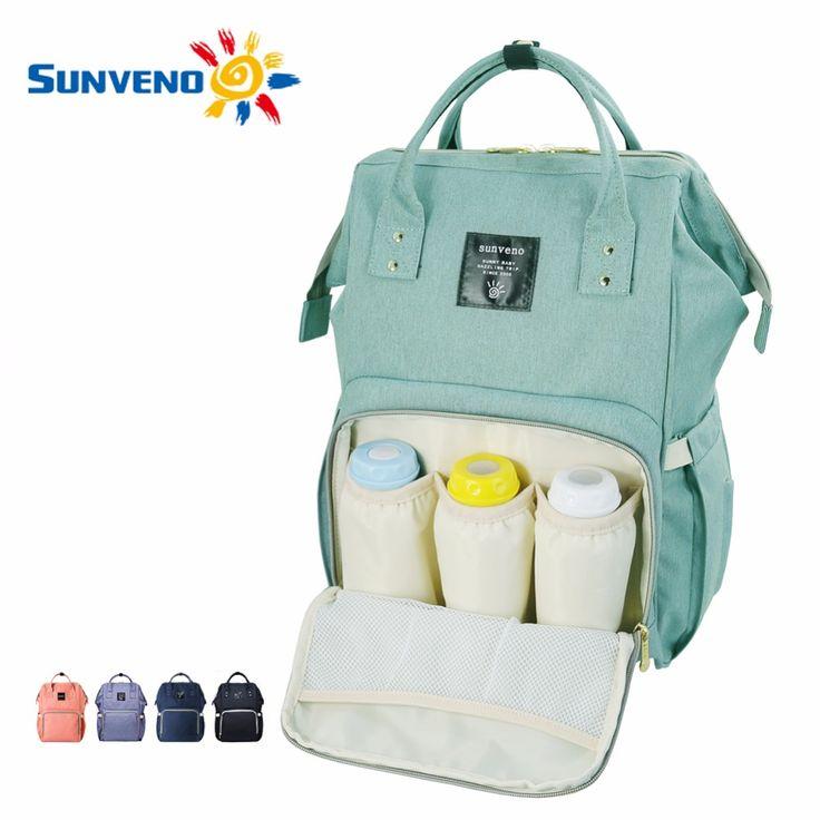 Sunveno moda di maternità mummia del pannolino del sacchetto di marca borsa per pannolini baby bag grande capacità zaino da viaggio desinger di cura cura del bambino