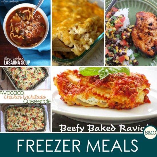 Freezer Friendly Meals