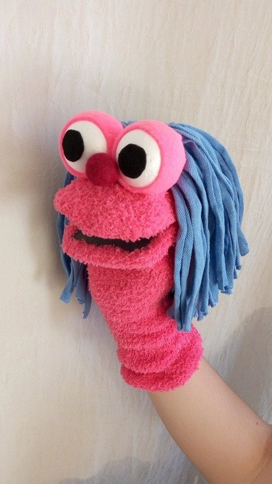 Sock Puppets made with 100% love, and of course the highest quailty material - just waiting to ...