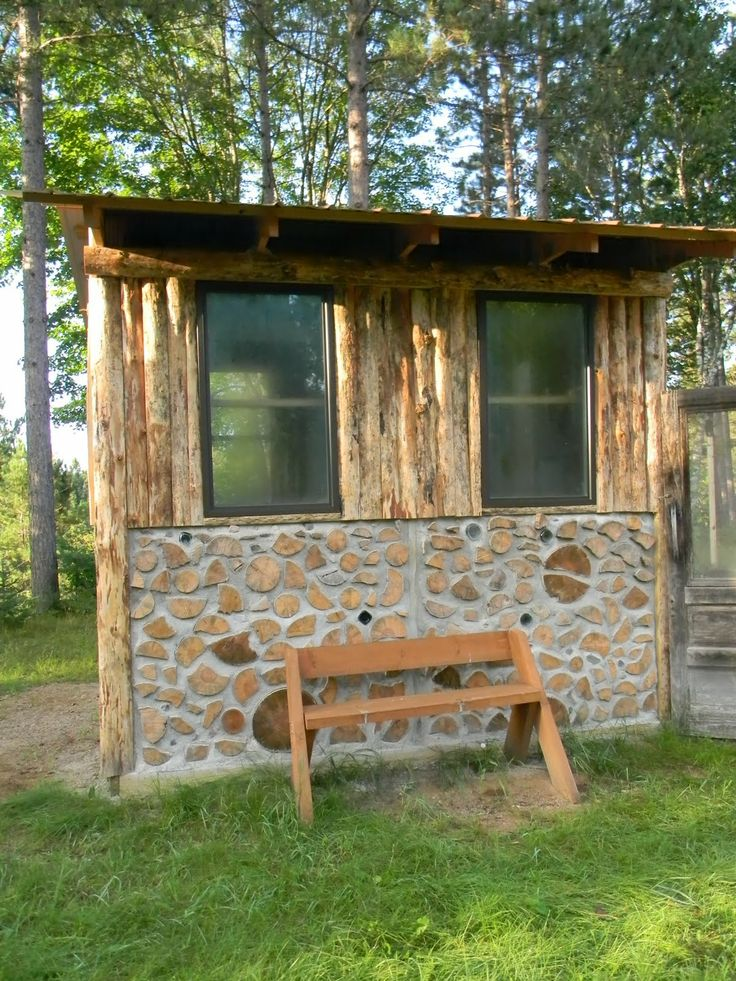 115 best images about cordwood on pinterest cordwood for Cordwood shed