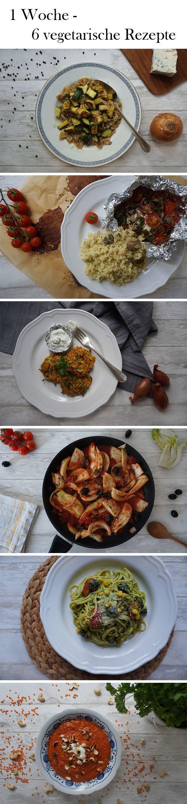 Sechs verschiedene vegetarische Gerichte für dein Mittag- und Abendessen, die du mit Hilfe unserer Tipps auch leicht vorbereiten und mitnehmen kannst.