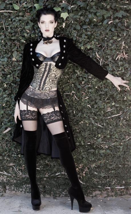 hot emo punk corset girl should proud