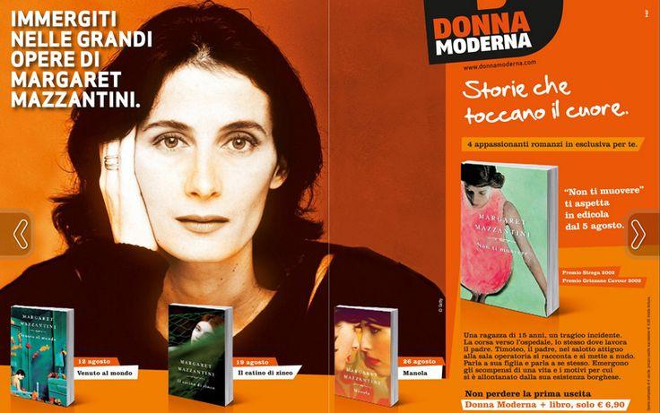Margaret Mazzantini con Donna Moderna