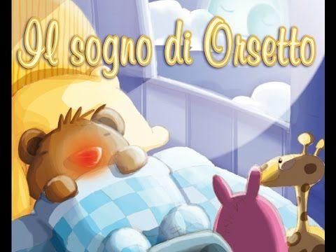 Il sogno di orsetto - Audio racconto di 5 minuti per bambini - YouTube