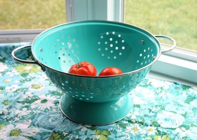 Kitchen Bin Turquoise