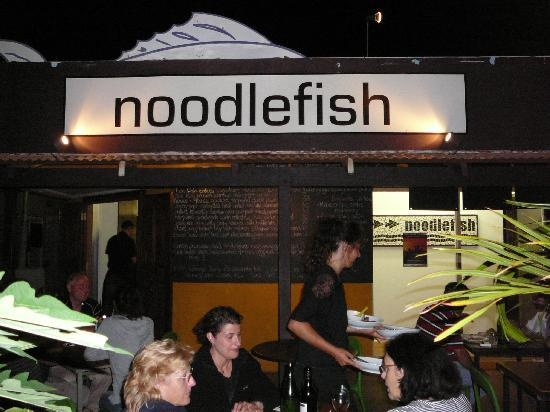 Another place you must try for dinner if you visit - Noodlefish. It's located in town and is BYO and the food is AMAZING.