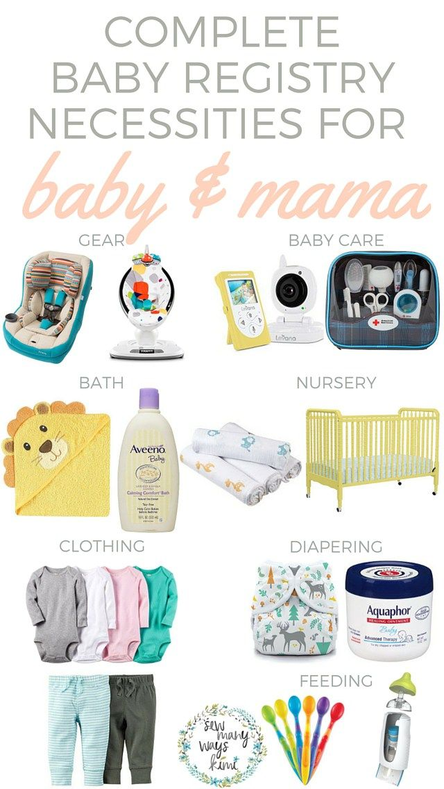 Best Baby Registry Checklist Images On