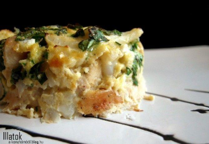 Csirkés karfiolsült recept képpel. Hozzávalók és az elkészítés részletes leírása. A csirkés karfiolsült elkészítési ideje: 35 perc