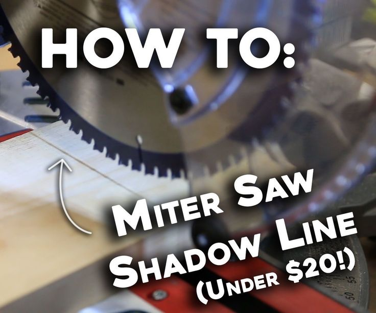 Today iI'm going to be adding this inexpensive LED light to the saw hood on my miter saw. This led light will shine directly down over the blade and cast a shadow onto the workpiece. Check out the video tutorial here:Dive into this intractable for a detailed write up of the process.This type of light system is becoming a new standard on miter saws, but this Bosch GCM12SD saw that I am using doesn't have that option. Companies like Dewalt, ridgid, and Milwaukee have put thi...