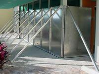 Flood Panel, a flood barrier