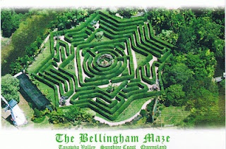 Bellingham Maze at Sunshine Coast in Queensland, Australa is a very compassionate place to visit. Cool fun!