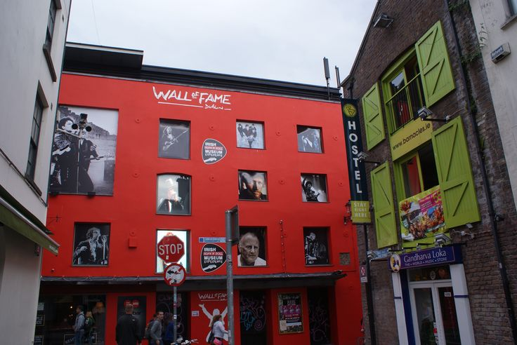Wall of Fame/ Temple Bar / Barra an Teampaill i Dublin