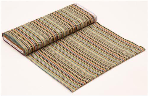 tela multicolor de rayas, de EE. UU.