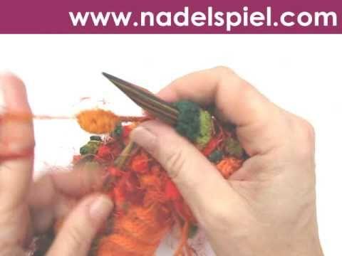 Stricken lernen * Baskenmütze aus Pomponwolle - http://stricken-leicht-gemacht.1pic4u.com/2014/11/22/stricken-lernen-baskenmuetze-aus-pomponwolle/