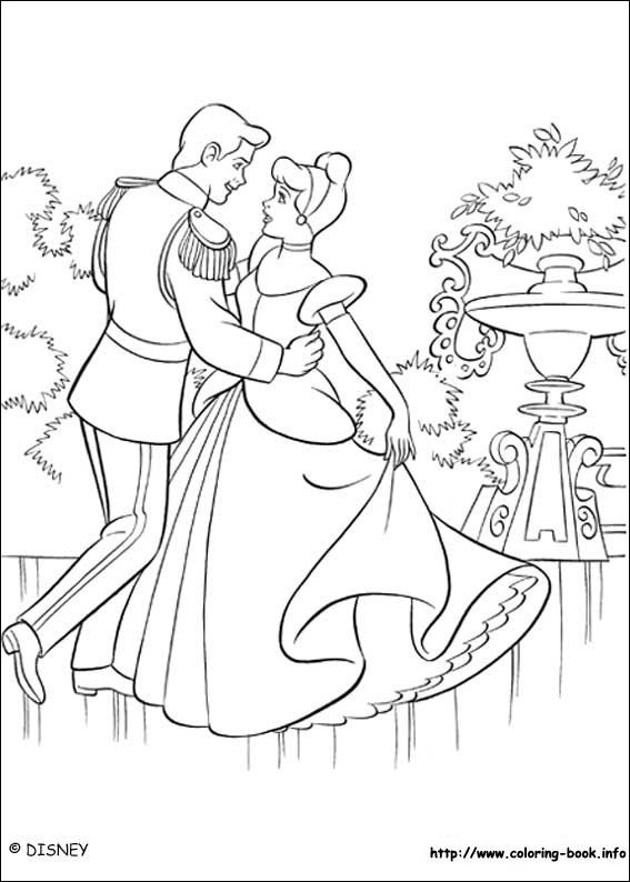 Cinderella Coloring Page 5 Is A From BookLet Your Children Express Their Imagination When They Color The