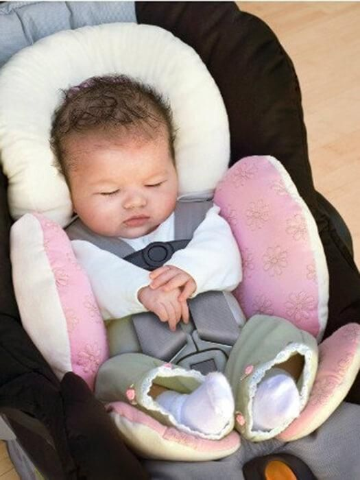 Cotton Head And Body Support Pillow Car Seat Ideas For Babies