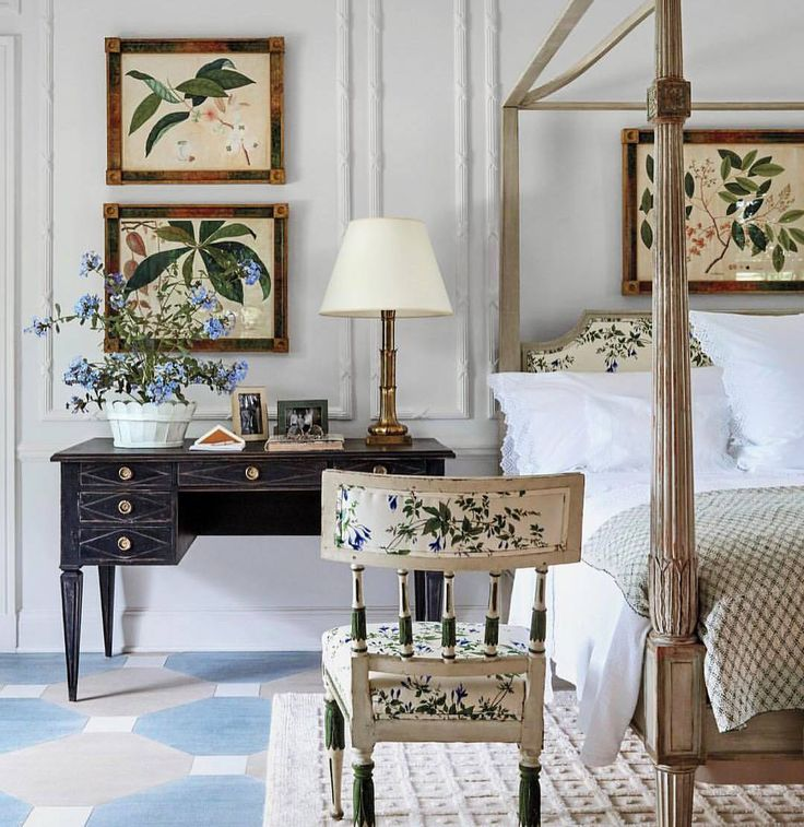 """1,197 Likes, 29 Comments - Eva G. Contreras (@cafedesignblog) on Instagram: """"Beautiful!!! Tory's bedroom at Westerly, designed by Daniel Romualdez"""""""