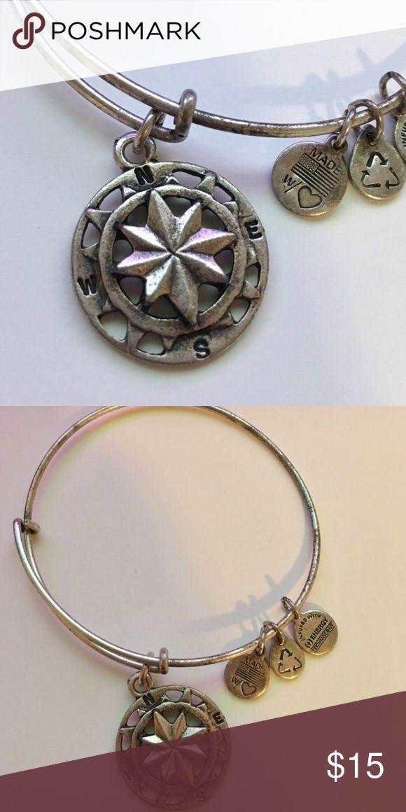 Alex and Ani Compass Bangle Brand new. Never worn authentic Alex and Ani bangle. Retail: $28 Alex & Ani Jewelry Bracelets