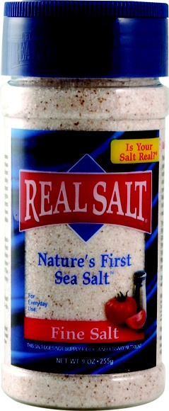 """Real Salt...I actually like this one better than Himalayan pink salt...and it's cheaper... Real Salt in its natural state without additives, chemicals, or heat processing of any kind. Real Salt's unique pinkish appearance and flecks of color come from more than 60 naturally occurring trace minerals. The result is a delicate """"sweet salt"""" flavor that you may not have experienced before. Real Salt means real flavor! Take a taste test! Great taste and so many health benefits."""
