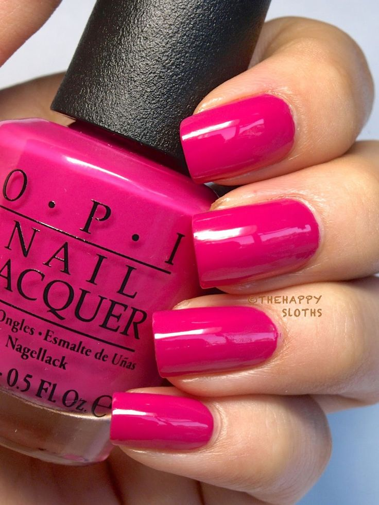 "Ford Mustang von OPI Nagellack-Kollektion in ""Race Red"", ""The Sky's My Limit"" und ""Girls Love Ponies"": Review und Swatches – Nail design"