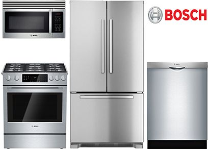 Looking for a decent stainless steel appliance package without spending a ton of money? Package rebates from Jenn-Air, KitchenAid, Electrolux and Bosch
