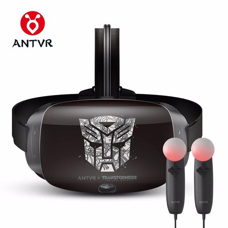 ANTVR 2017 New Virtual Reality Headset Immersive 3D VR Glasses Virtual pc Glasses Binocular 110 FOV 2160*1200 VR box Transformer