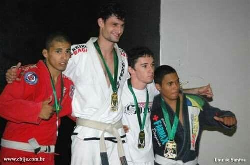 O começo.... campeão brasileiro...  faixa branca 2009