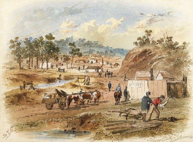 Gill, Samuel Thomas, Fryers Creek, Castlemaine