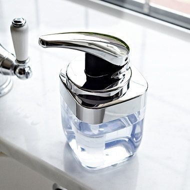 Simplehuman - Dozownik do mydła z pompką - kwadratowy łazienka