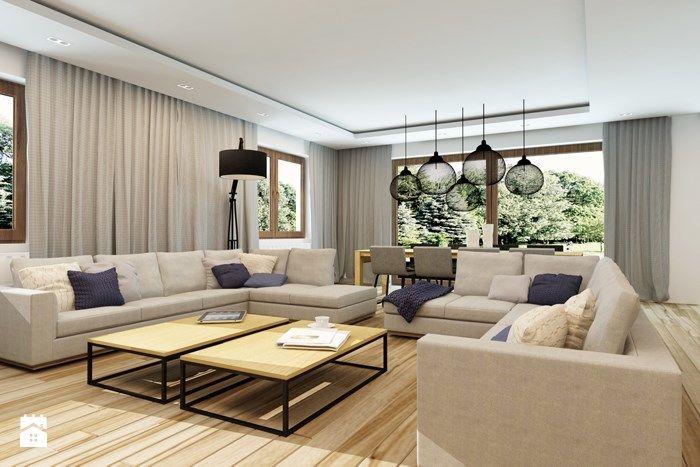 Zdjęcie: Nowoczesny, minimalistyczny salon - Salon - Styl Nowoczesny - design me too