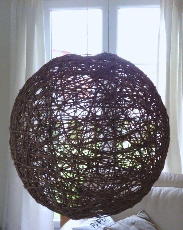 DIY touw, lijm, behangplaksel
