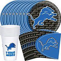 NFL Detroit Lions Party Supplies-Party City