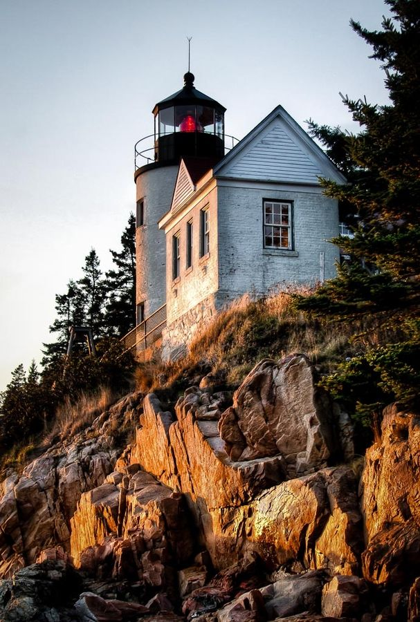 Bass Harbor Lighthouse, Acadia National Park, Maine