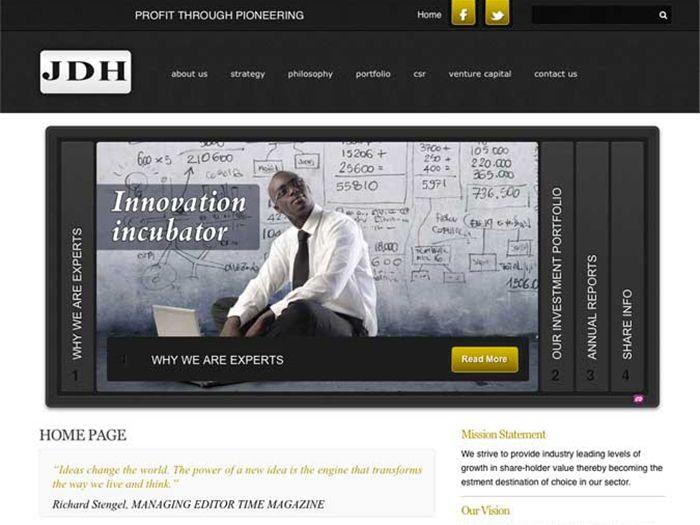 John Daniel Holdings Website